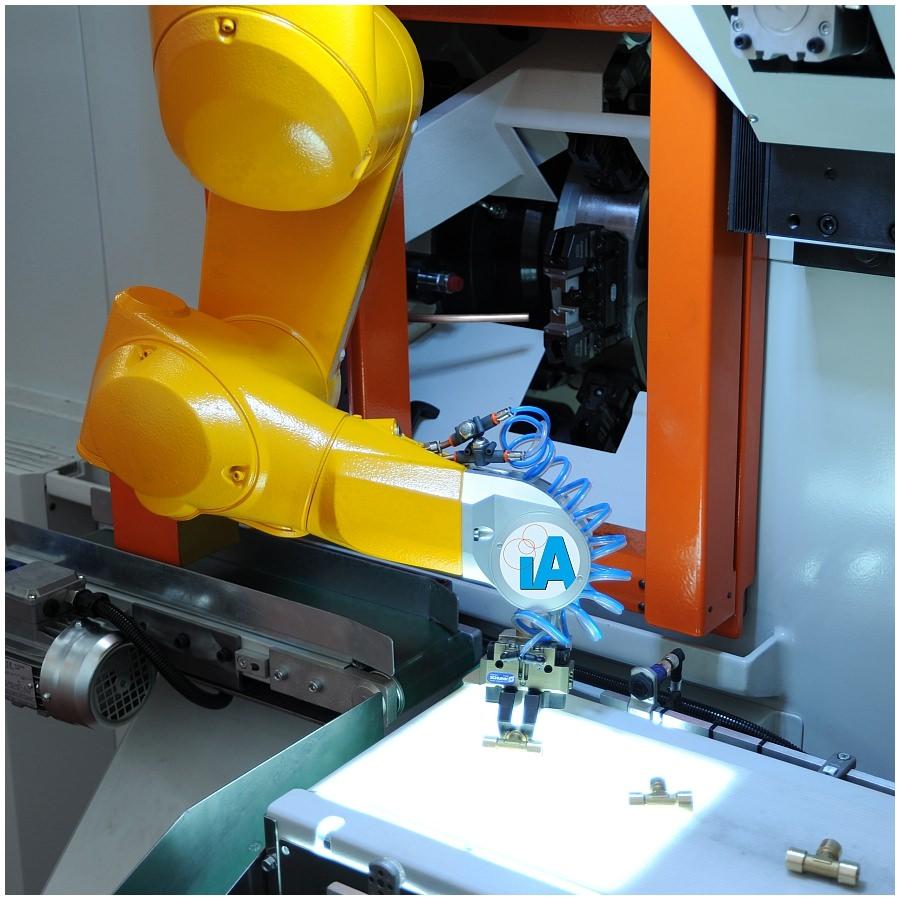 Greifen mit Roboter