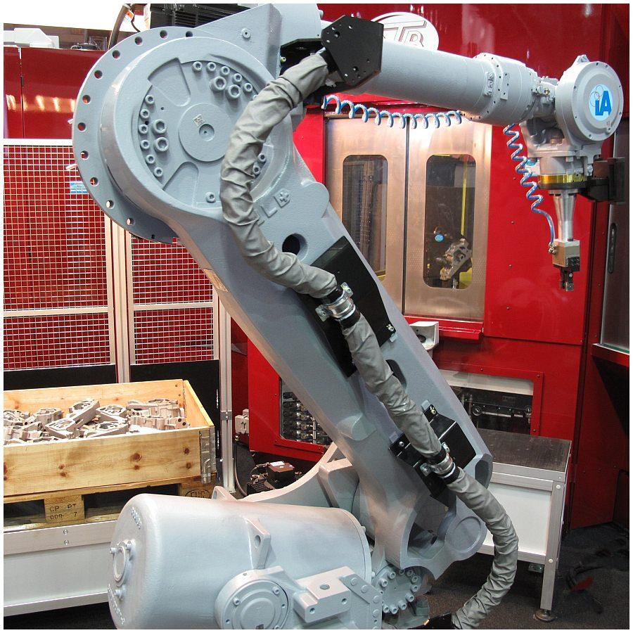 Roboter Greifer erkennen Optisch